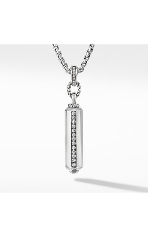 Lexington Small Barrel Pendant with Diamonds product image