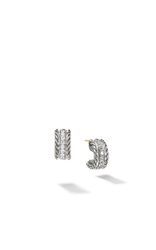 Cable Classics Collection® Earrings with Diamonds product image