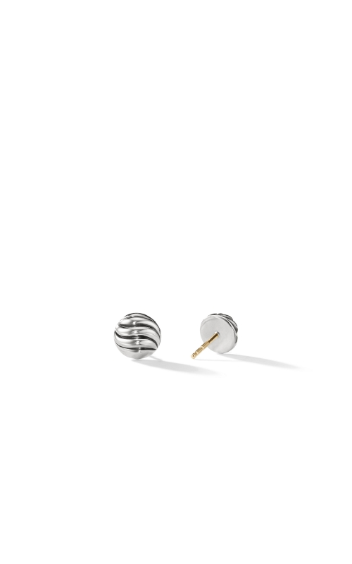Sculpted Cable Stud Earrings product image
