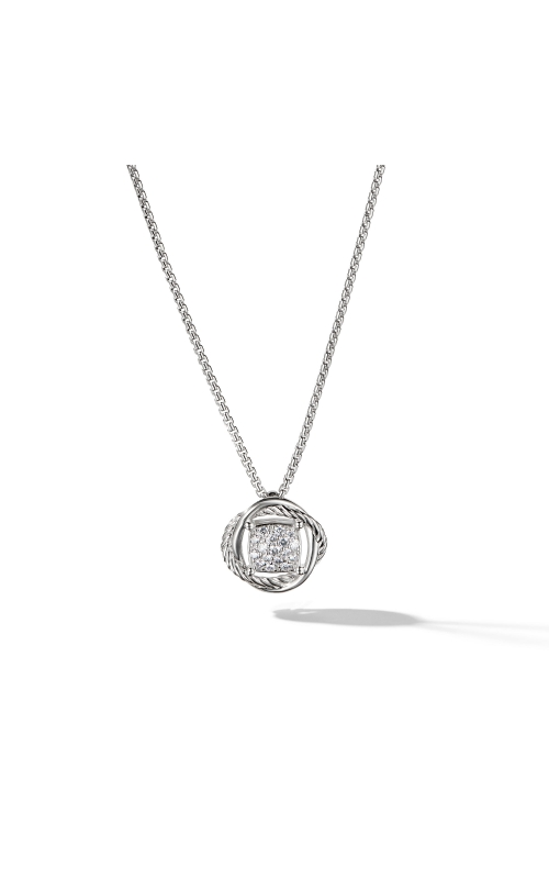 Infinity Pendant Necklace with Diamonds product image