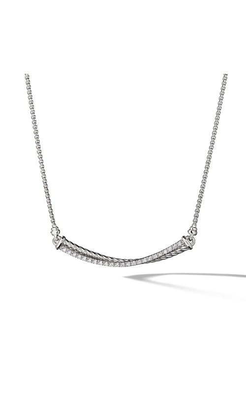 Crossover Bar Necklace with Diamonds product image