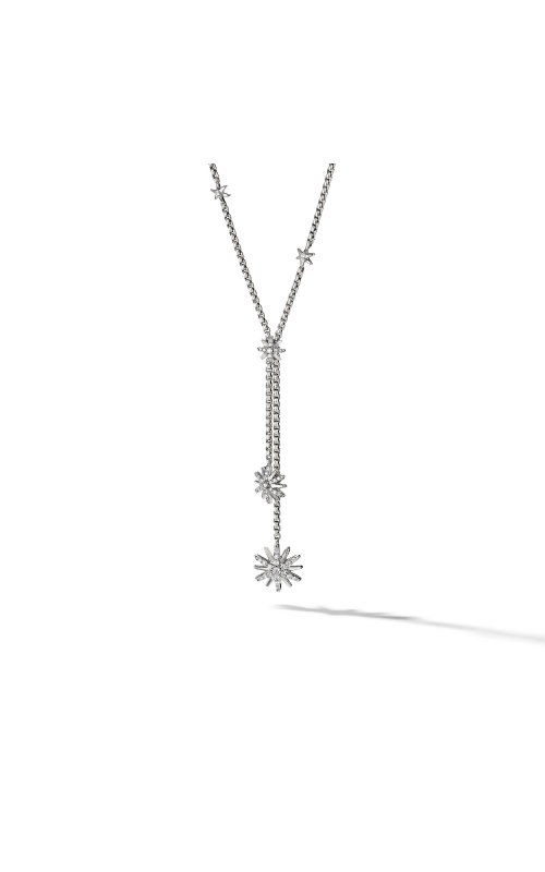 Starburst Y Necklace with Diamonds product image