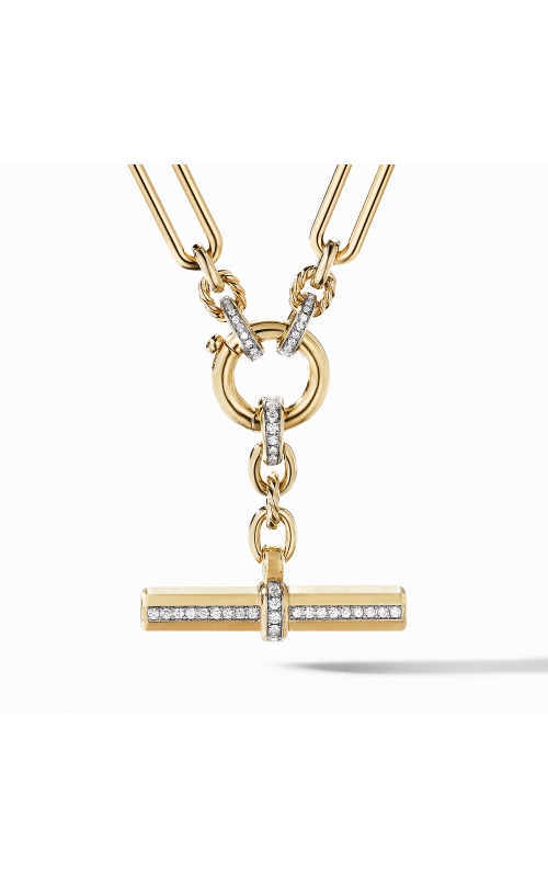Lexington Chain Necklace in 18K Yellow Gold with Diamonds product image