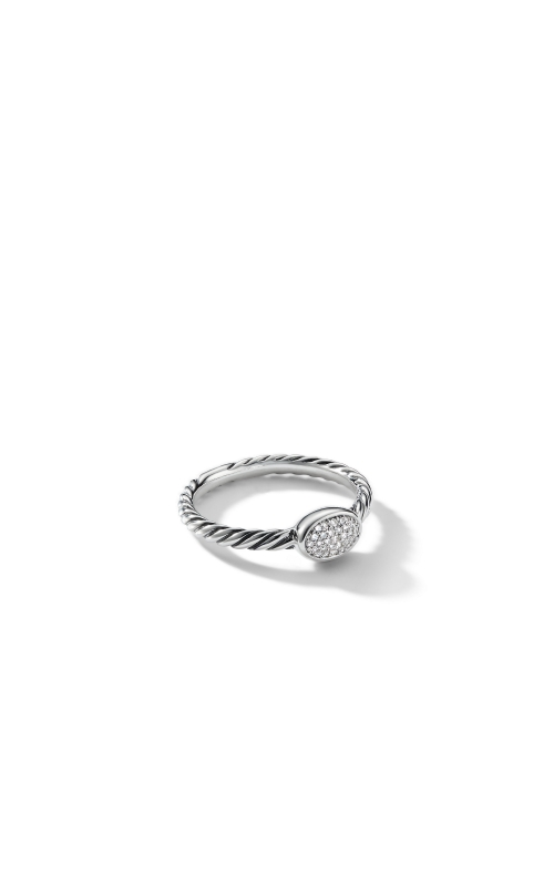 Petite Pave Oval Ring with Diamonds product image