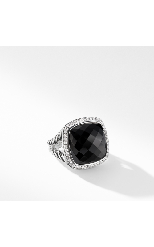 Albion Ring with Black Onyx and Diamonds product image