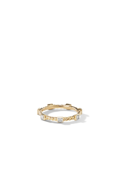 Ring with Diamonds in 18K Gold product image