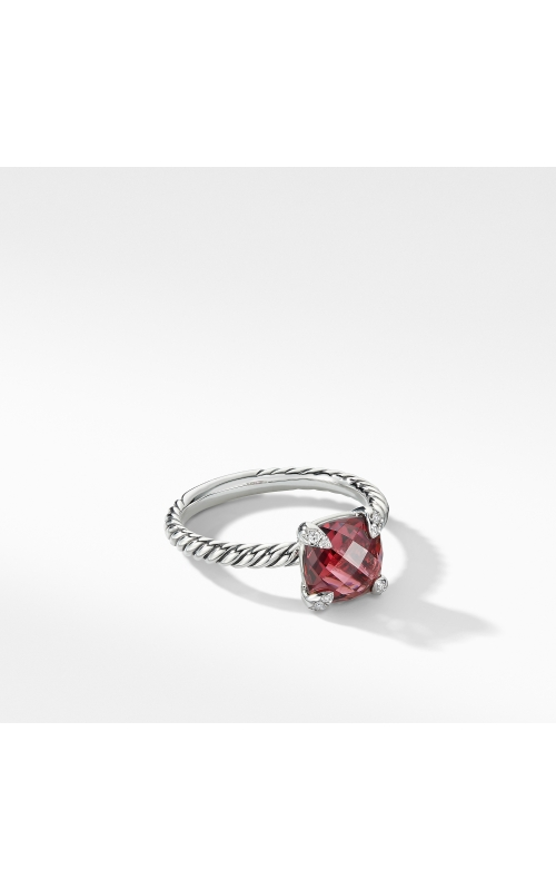 Chatelaine® Ring with Rhodalite Garnet and Diamonds product image