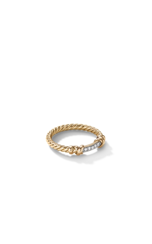 Petite Helena Wrap Ring in 18K Yellow Gold with Diamonds product image