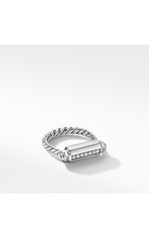 Lexington Barrel Ring with Diamonds product image