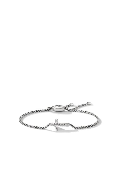 Pave Cross Bracelet with Diamonds product image
