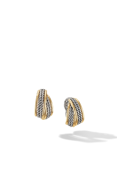 DY Origami Shrimp Earrings with 18K Yellow Gold product image