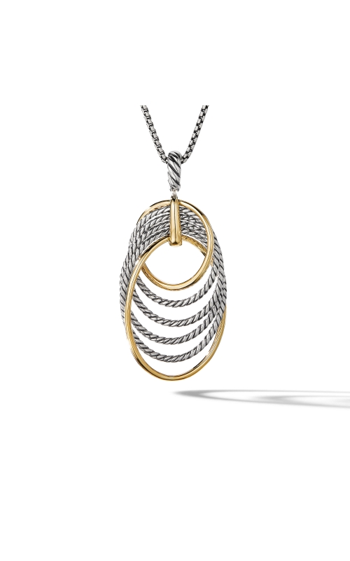 DY Origami Pendant Necklace with 18K Yellow Gold product image