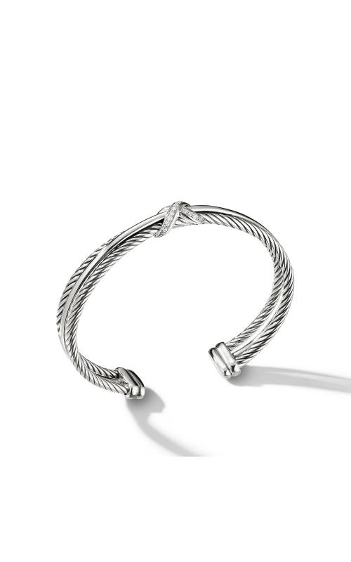 Crossover X Bracelet with Diamonds product image