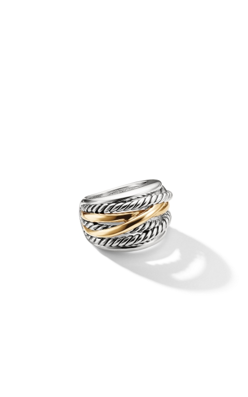 Crossover Wide Ring with Gold product image