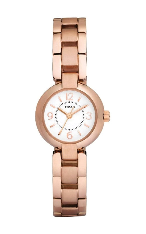 Fossil Ladies Rose Gold Stainless Steel Watch ES2742 product image