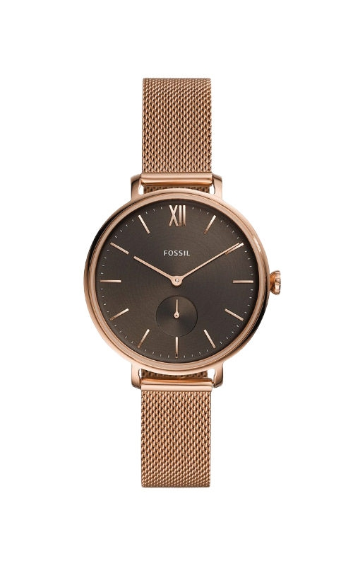 Fossil Ladies Kalya Three Hand Rose Gold Tone Stainless Steel Watch ES4704 product image