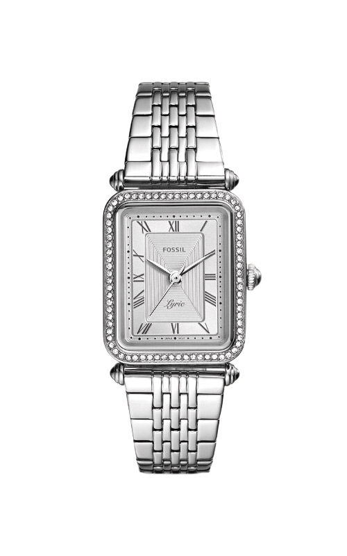 Fossil Ladies Lyric Three Hand Stainless Steel Watch ES4721 product image