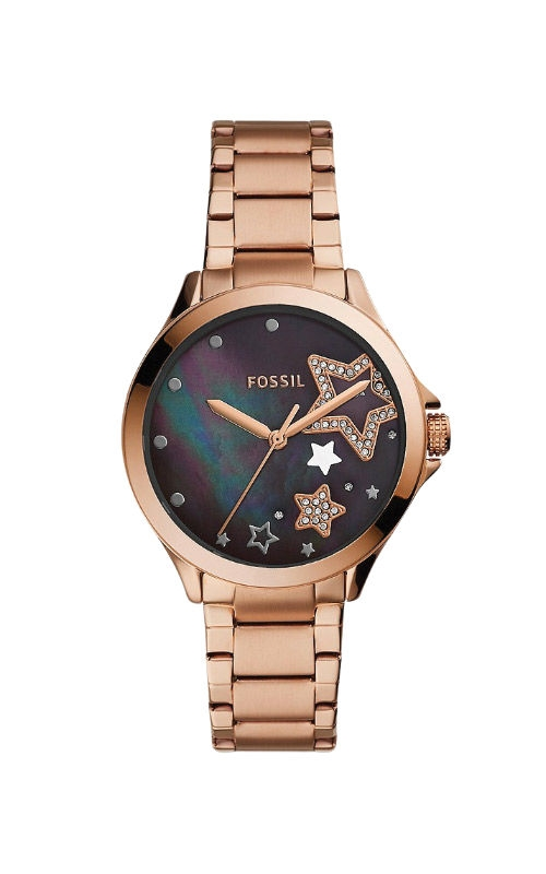 Fossil Ladies Sadie Three Hand Rose Gold Tone Stainless Steel Watch ES4896 product image