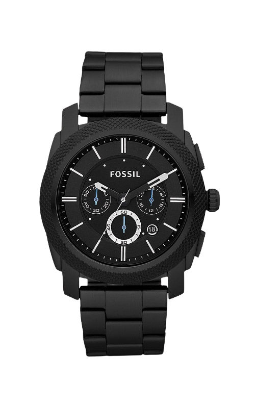 Fossil Men's Machine Chronograph Black Stainless Steel Watch FS4552 product image
