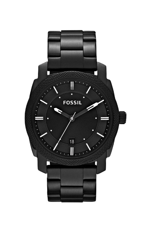 Fossil Men's Machine Black Stainless Steel Watch FS4775 product image