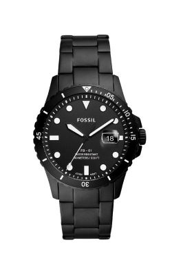Fossil Men's FB 01 Three Hand Date Black Stainless Steel Watch FS5659 product image