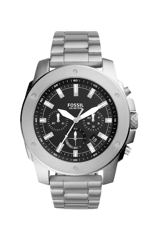Fossil Men's Mega Machine Chronograph Stainless Steel Watch FS5716 product image