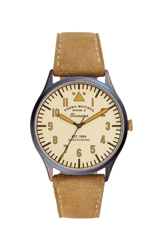 Fossil Men's Limited Edition Curator Series Forrester Three Hand Tan Leather Watch LE1102 product image