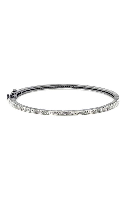 FREIDA ROTHMAN Signature Thin Pave Hinge Bangle PRZB080047B-HG-1 product image