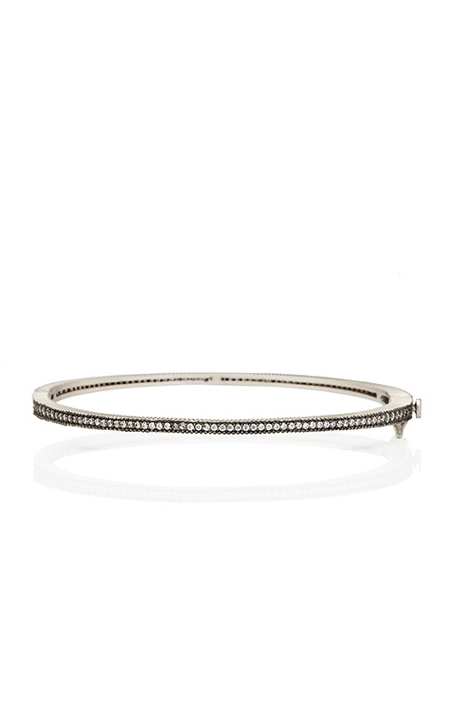 FREIDA ROTHMAN Signature Thin Pave Bangle PRZB080047B-HG product image