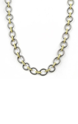 FREIDA ROTHMAN Signature Two Tone 18in Link Necklace YRZ070342B-18-1 product image