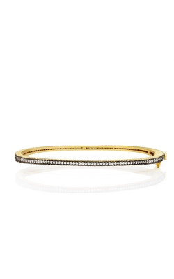 FREIDA ROTHMAN Signature Thin Pave Bangle YRZB080047B-HG product image