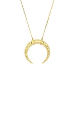 Gorjana Cayne Crescent Pendant Necklace 164-113-G product image