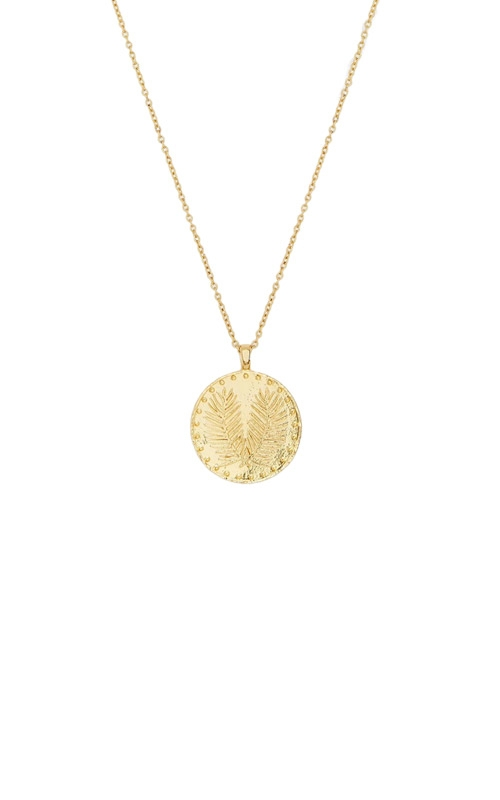 Gorjana Palm Coin Necklace 1811-117-G product image
