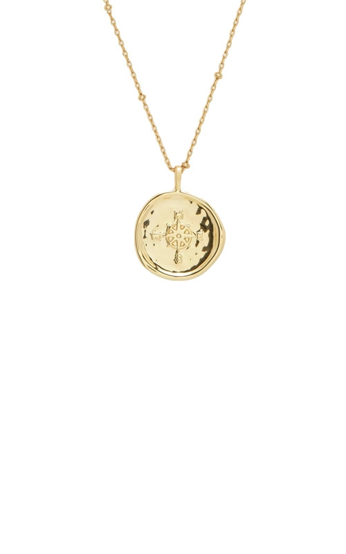 Gorjana Compass Coin Necklace 1811-126-G product image