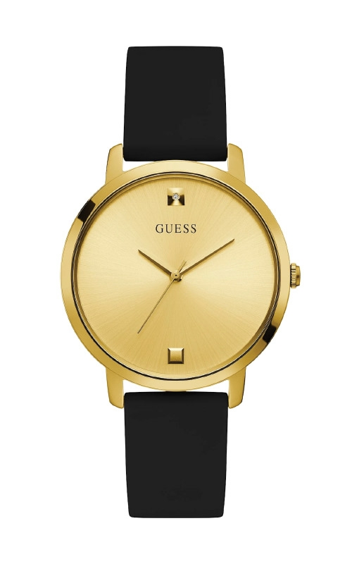 Guess Men's Gold-Tone Diamond Analog Watch GW0004L1 product image