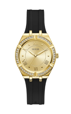 Guess Gold-Tone And Black Analog Watch GW0034L1 product image