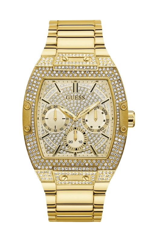 Guess Men's Gold Tone Multifunction Watch GW0094G2 product image