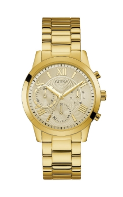 Guess Men's Gold Tone Chronograph Watch U0075G5 product image