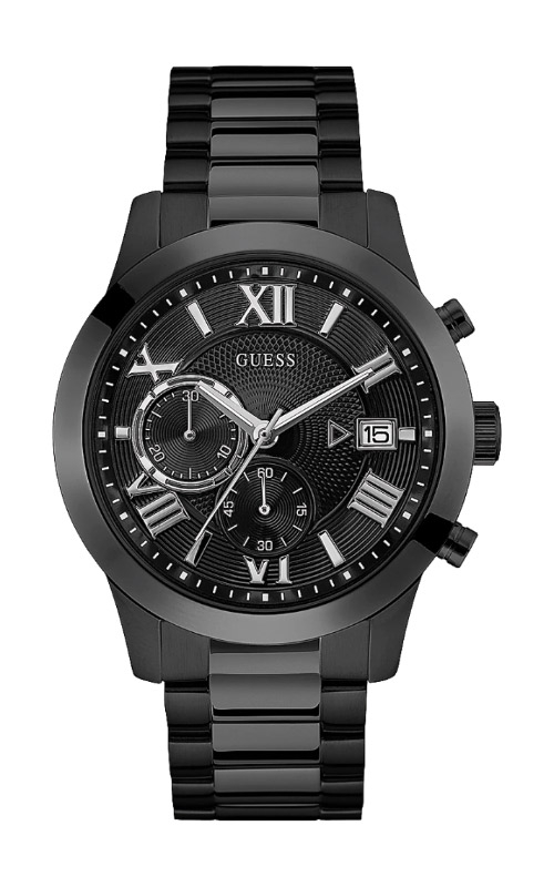 Guess Men's Black Stainless Steel Watch U0668G5 product image