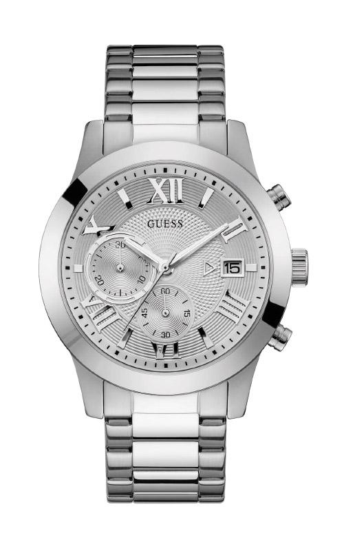 Guess Men's Silver-Tone Classic Watch U0668G7 product image