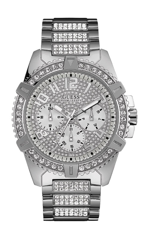 Guess Men's Silver Tone Stainless Steel Watch U0799G1 product image