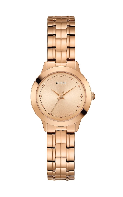 Guess Rose Gold-Tone Slim Classic Watch U0989L3 product image