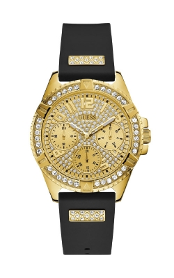Guess Gold-Tone And Black Multifunction Watch U1160L1 product image