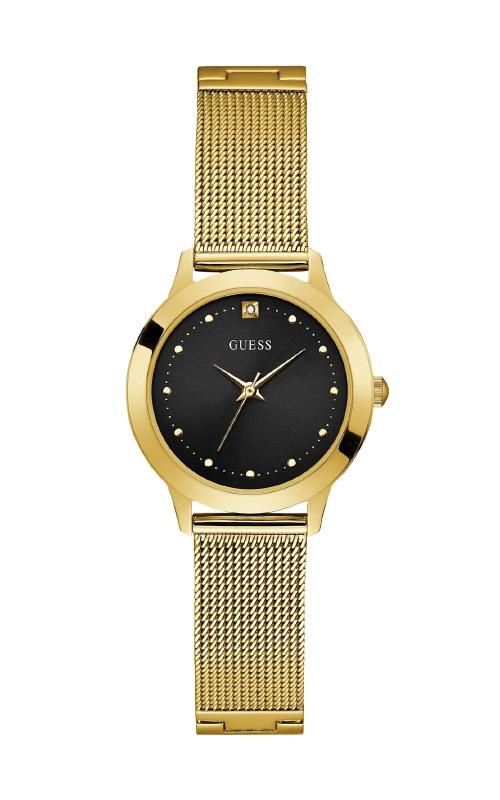 Guess Ladies Gold-Tone Diamond Mesh Watch U1197L5 product image