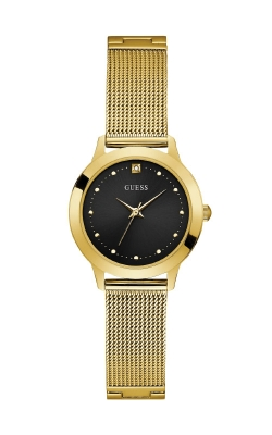 Guess Ladies Gold-Tone Diamond Mesh Watch U1197L5 product image