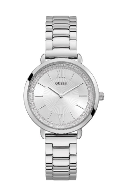 Guess Silver-Tone Rhinestone Analog Watch U1231L1 product image