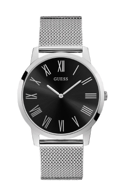 Guess Silver Tone And Black Watch U1263G1 product image
