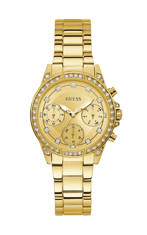 Guess Gold-Tone Chrono-Look Watch U1293L2 product image