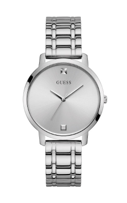 Guess Silver-Tone Diamond Analog Watch U1313L1 product image
