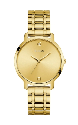 Guess Gold -Tone Diamond Analog Watch U1313L2 product image